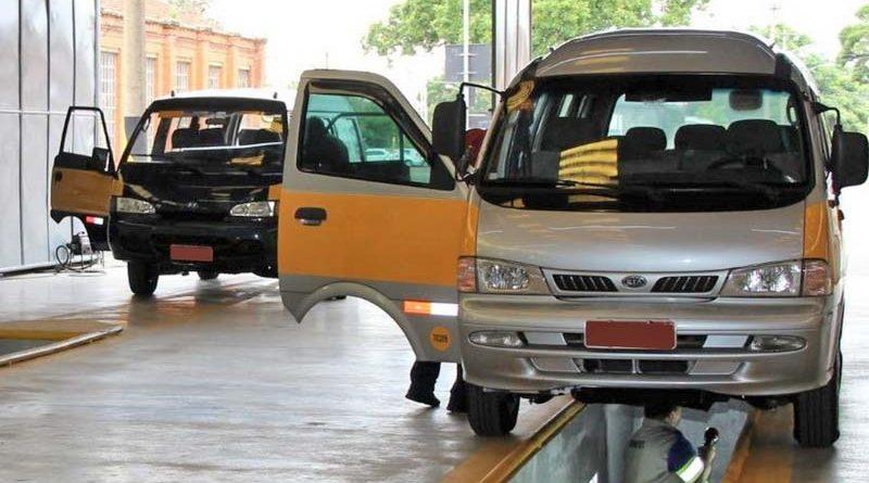 Inspeções para o transporte escolar, táxi e fretamento são retomadas
