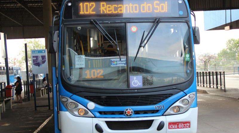 Linha 102 – Recanto do Sol / Terminal Ouro Verde