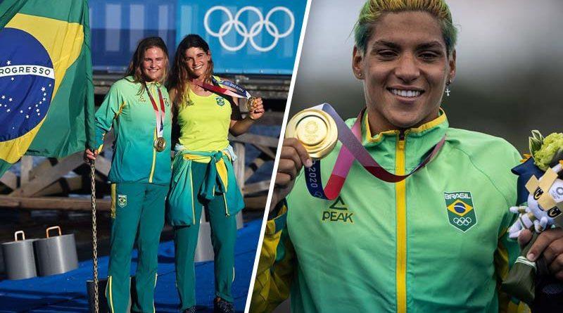 2 ouros para o Brasil