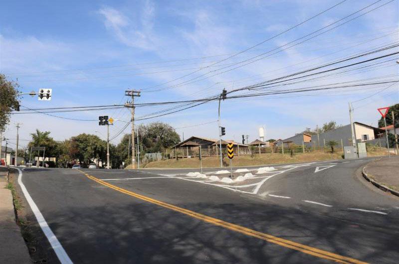 Novo semáforo na Amoreiras