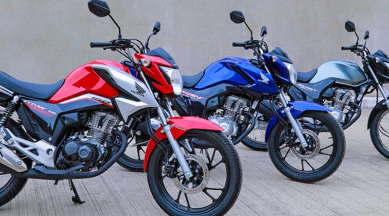 motos mais roubadas